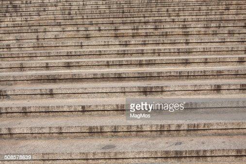 Escaliers menant au Palace : Photo