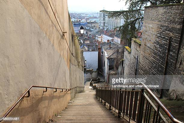 Stairs to the oldtown of Lyon
