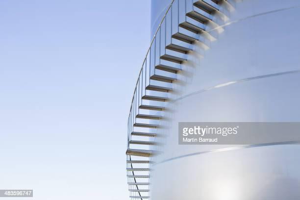 Treppen sich an silage Stauraum tower