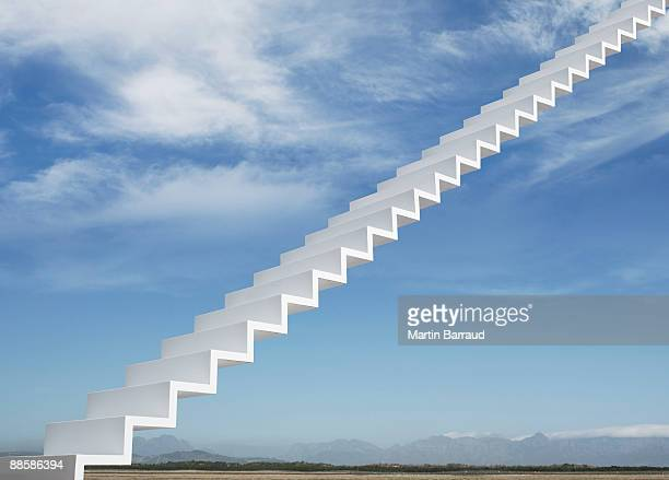 Stairway leading to the sky