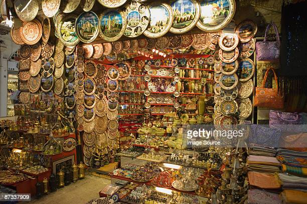 Stall at istanbul grand bazaar