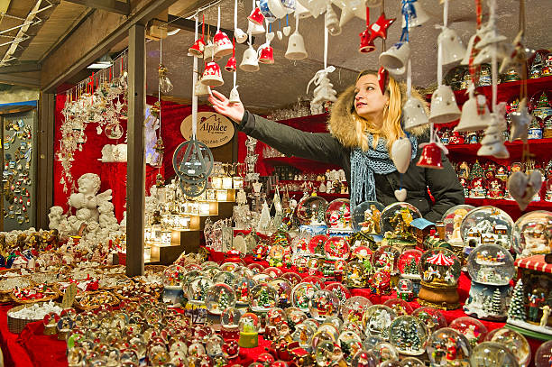 Christmas atmosphere in verona photos and images getty for H m christmas decorations
