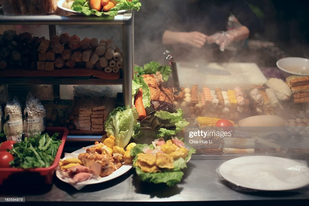 stall keeper : Stock Photo