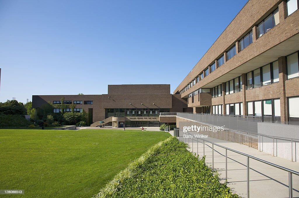 Staller Center for the Arts, Stony Brook University, Long Island, NY, U.S.A. : Stock Photo