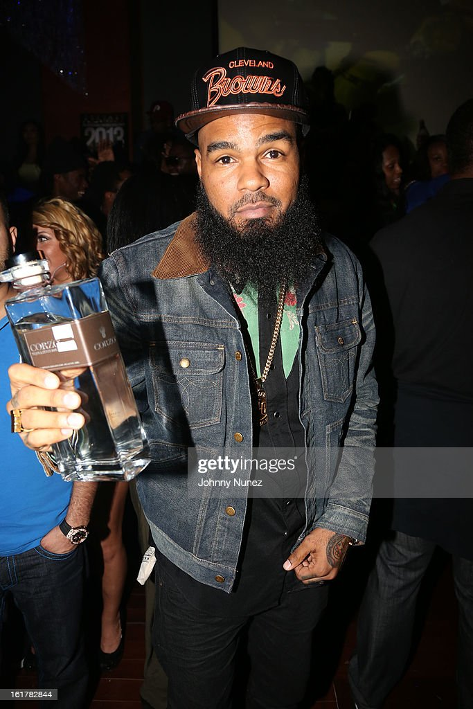 Stalley attends Corzo presents NBA All-Star Weekend at Club Roxy on February 15, 2013 in Houston, Texas.