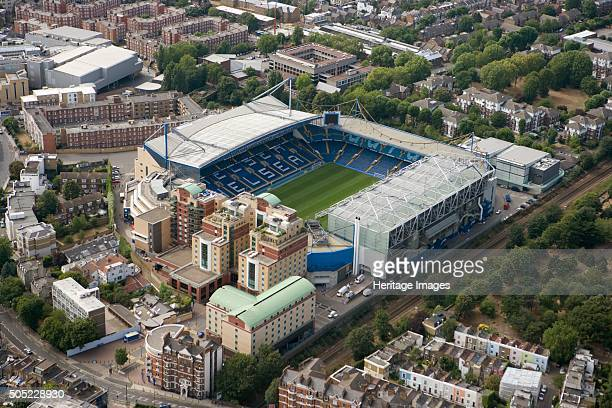 Stamford Bridge Football Ground London 2006 Aerial view of the home of Chelsea Football Club Artist Historic England Staff Photographer