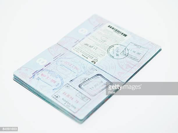 Stamped Passport