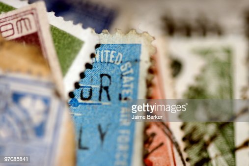 Stamps : Stock Photo