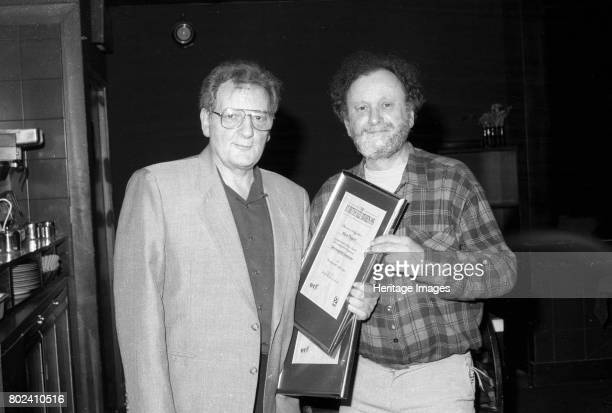 Stan Britt and Stan Tracey BT British Jazz Awards Pizza OnThe Park London 25 April 1995 Artist Brian O'Connor