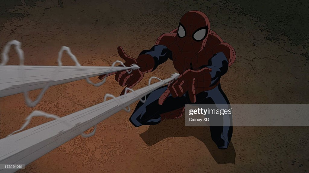 MAN - 'Stan By Me' - Spider-Man, Mary Jane, Harry and Stan the Janitor go on a hunt for The Lizard in the tunnels beneath Midtown High. This episode of 'Ultimate Spider-Man' premieres Sunday, August 4 (11:30 AM - 12:00 NOON ET/PT) on Marvel Universe on Disney XD. (Image by Disney XD via Getty Images) SPIDER-MAN