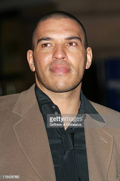 Stan Collymore during 'Basic Instinct 2 Risk Addiction' World Premiere Outside Arrivals at Vue Leicester Square in London Great Britain
