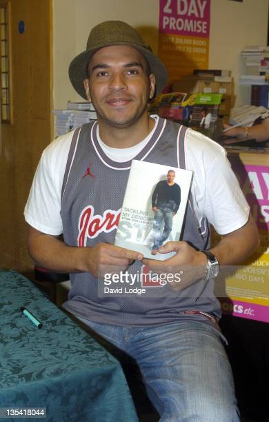 Stan Collymore during Stan Collymore's 'Tackling My Demons' Book Signing at Books etc Cheapside in London Great Britain