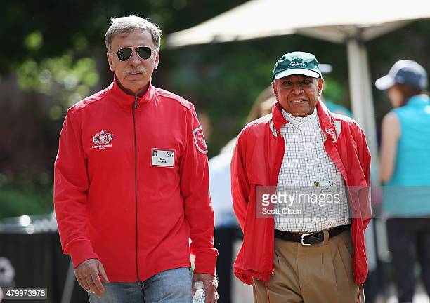 Stan Kroenke owner of Kroenke Sports Enterprises which includes the Denver Nuggets of the NBA Colorado Avalanche of the NHL Colorado Rapids of Major...