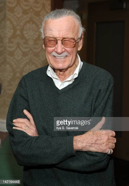 Stan Lee attends the 2012 New York Comic Book Marketplace at the Penn Plaza Pavilion on March 30 2012 in New York City