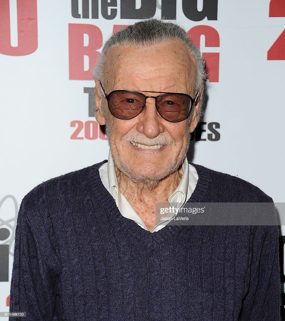 Stan Lee attends 'The Big Bang Theory' 200th episode celebration at Vibiana on February 20 2016 in Los Angeles California