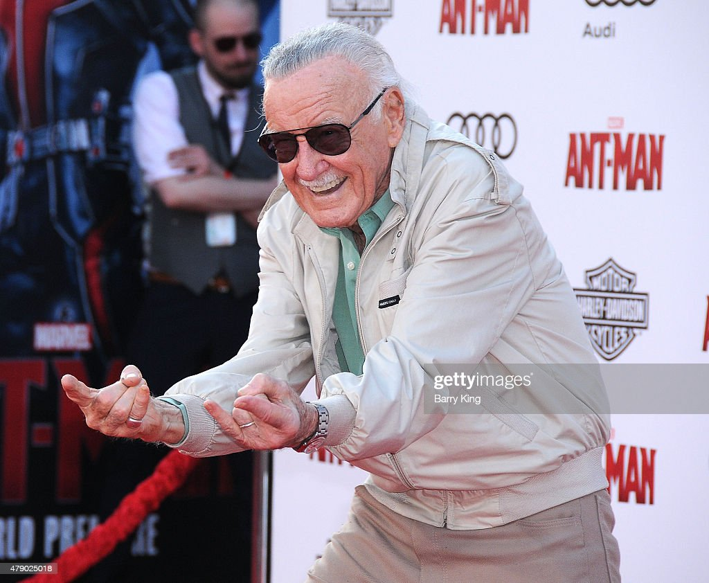 Stan Lee attends the premiere of Marvel's 'Ant-Man' at the Dolby Theatre on June 29, 2015 in Hollywood, California.
