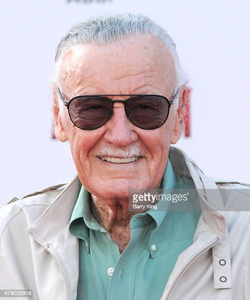Stan Lee attends the premiere of Marvel's 'AntMan' at the Dolby Theatre on June 29 2015 in Hollywood California