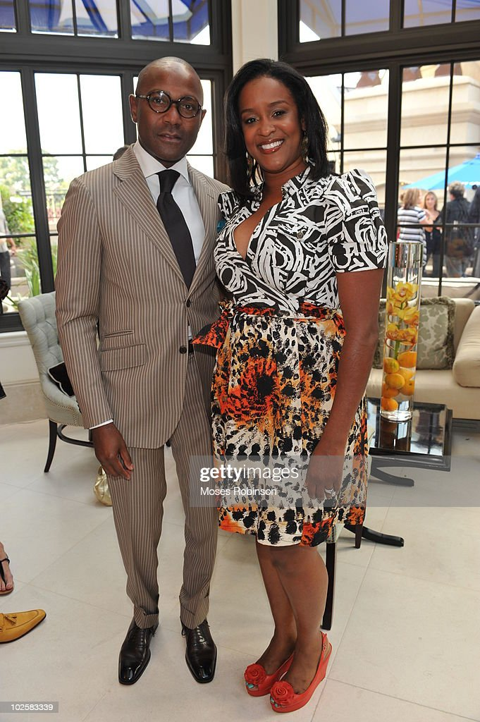 Stan Mukoro and JeNika Mukoro attend the Grey Goose summer soiree on July 1, 2010 in Atlanta, Georgia.