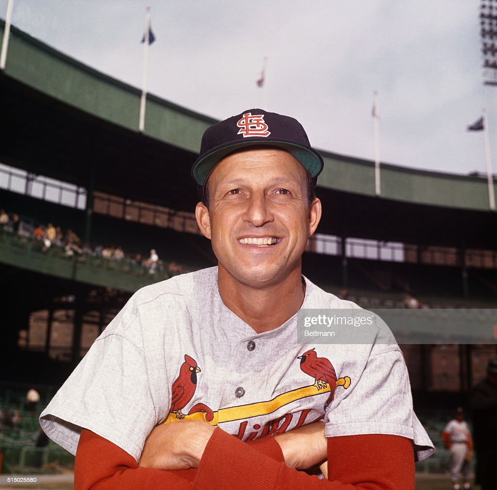 Stan Musial at Polo Grounds