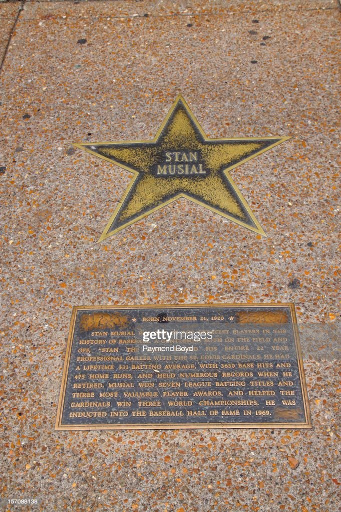Image result for st. louis walk of fame musial