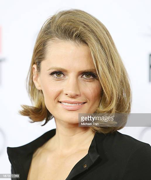 Stana Katic arrives at the AFI FEST 2013 'Saving Mr Banks' opening night premiere held at TCL Chinese Theatre on November 7 2013 in Hollywood...