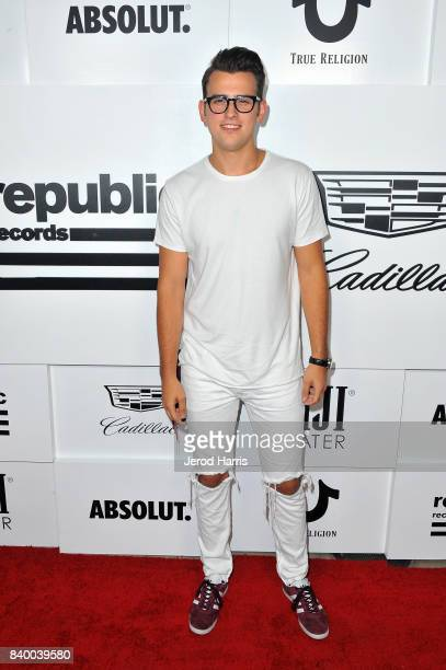 Stanaj attends the VMA after party hosted by Republic Records and Cadillac at TAO restaurant at the Dream Hotel on August 27 2017 in Los Angeles...