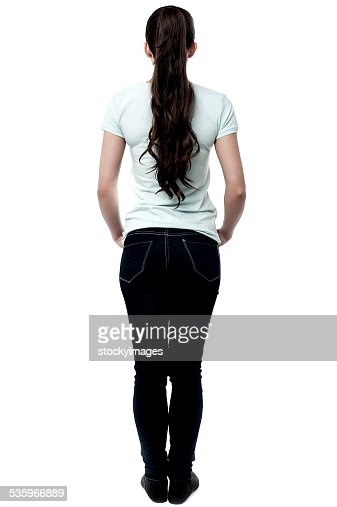 Stand after me, it's a Q ! : Stock Photo