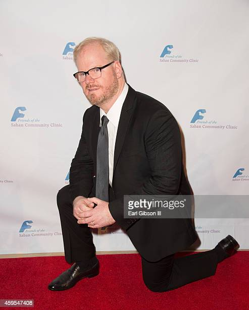 Stand Up Comedian and Actor Jim Gaffigan attends The Saban Clinic 38th Annual Dinner Gala at The Beverly Hilton Hotel on November 24 2014 in Beverly...