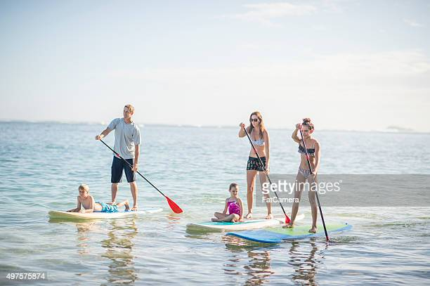 Paddle Boarding Mother S Beach Long Beach