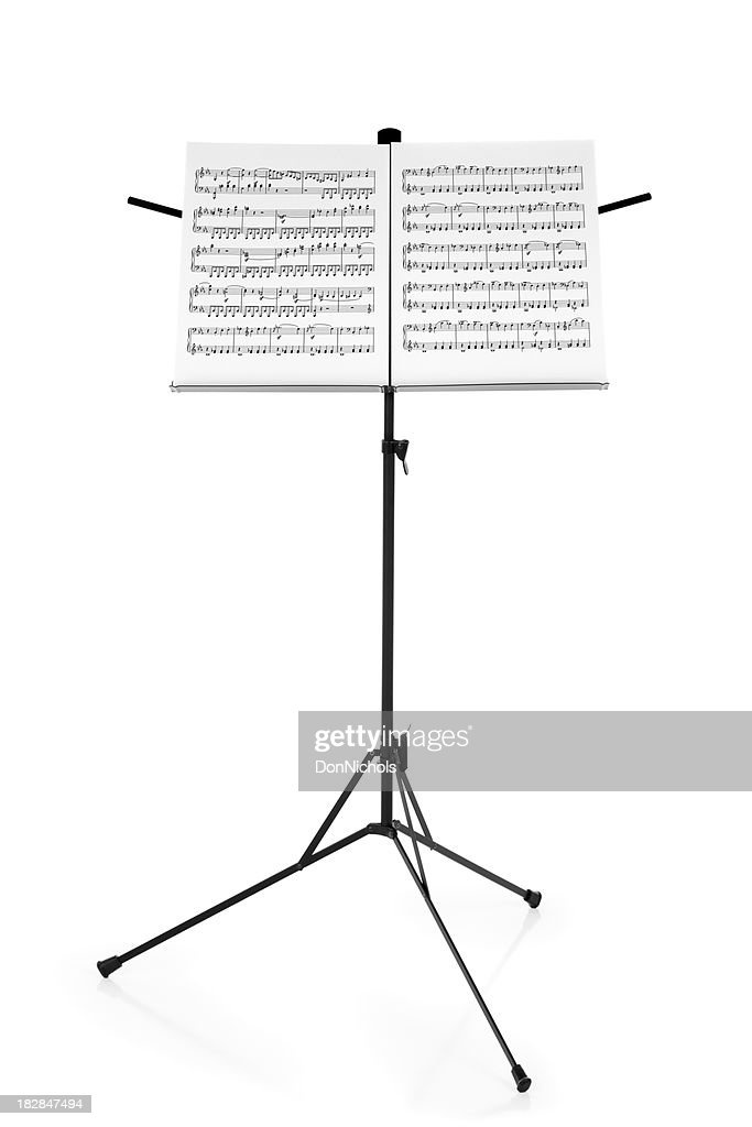 Stand with Sheet Music