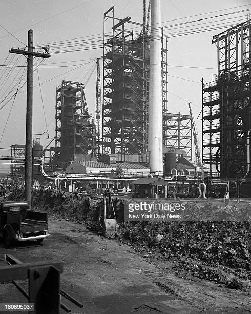 Standard Oil Company of New Jersey Construction of Catalytic Crackers at Standard Oil's Bayway Plant in New Jersey Completion is expected in the...