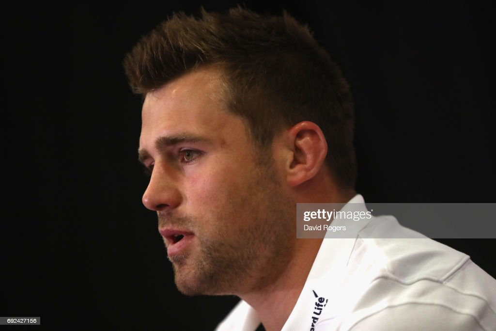 CJ Stander faces the media during the British & Irish Lions media session held at the Pullman Hotel on June 5, 2017 in Auckland, New Zealand.