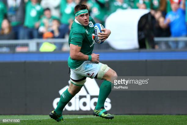 CJ Stander of Ireland at Olimpico Stadium in Rome Italy on February 11 2017 during the team's Six Nations rugby union match between Italy and Ireland