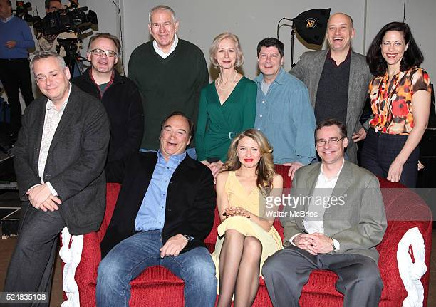 Andrew Weems Terry Beaver Patricia Hodges Michael McGrath Frank Wood and Jennifer Regan Seated Doug Hughes Jim Belushi Nina Arianda Robert Sean...