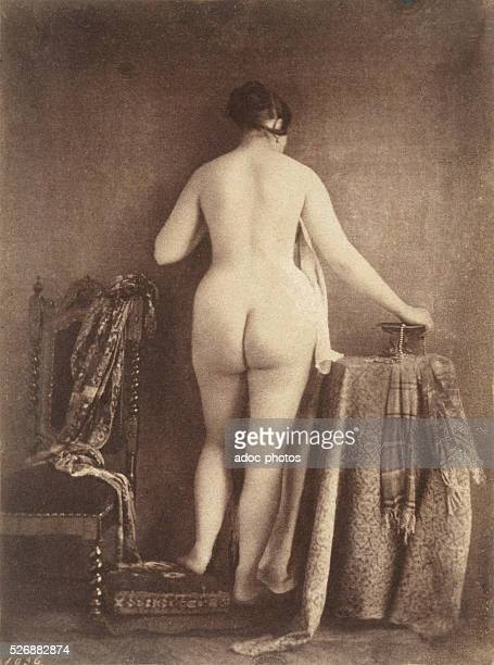 Standing female nude Ca 1853