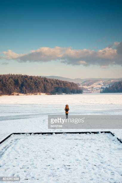 Standing In The Middle Of The Frozen Lake