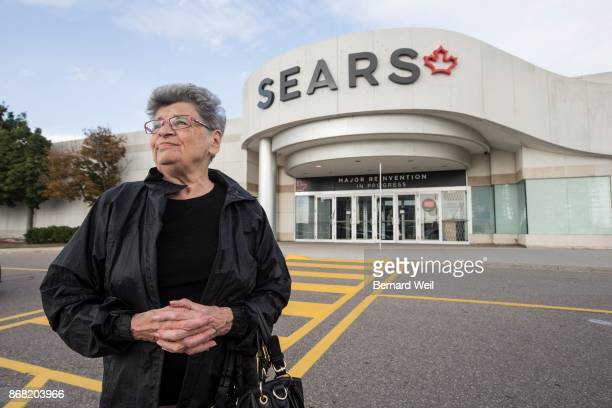 MISSISSAUGA ON OCTOBER 10 Standing outside the Erin Mills Town Centre Sears in Mississauga Irene Ranieri talked about working at Sears in the...