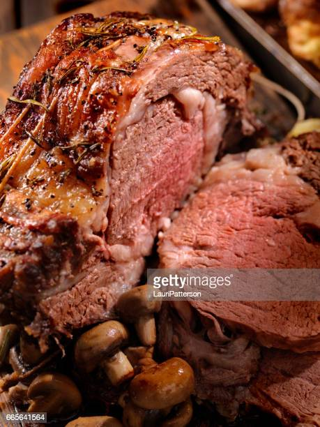 Standing Rib Roast with lots of Marbling