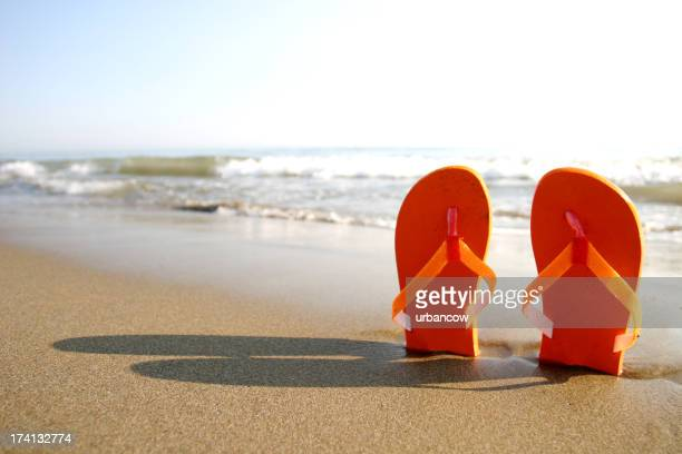 Sandales debout