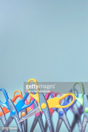 Standing Scissors... : Stock Photo