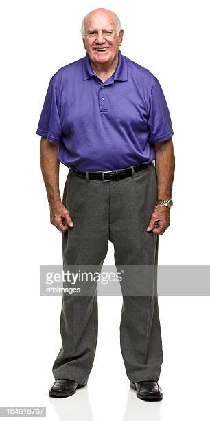 Standing Senior Man