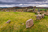 Tomnaverie is a Recumbent Stone Circle, a monument found only in the North East of Scotland