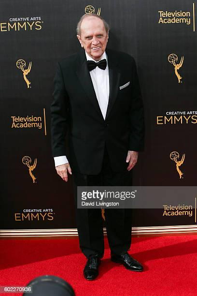 Standup comedian Bob Newhart attends the 2016 Creative Arts Emmy Awards Day 1 at the Microsoft Theater on September 10 2016 in Los Angeles California