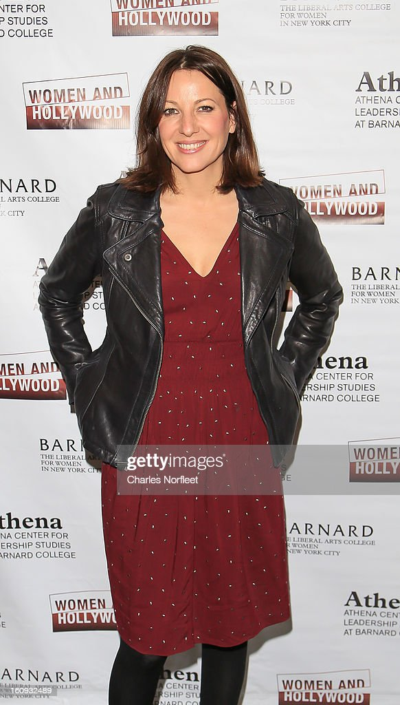 Stand-up comedian Bonnie McFarlane attends The 2013 Athena Film Festival Opening Night Reception at The Diana Center At Barnard College on February 7, 2013 in New York City.