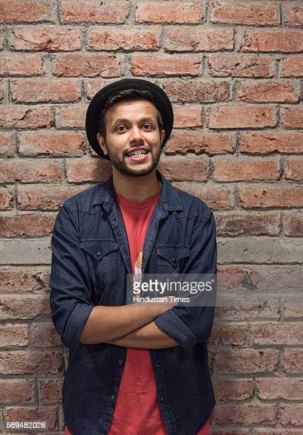 Standup comedian Sapan Verma during an exclusive interview with ht48hoursHindustan Times at OML Office in Lower Parel on August 4 2016 in Mumbai...