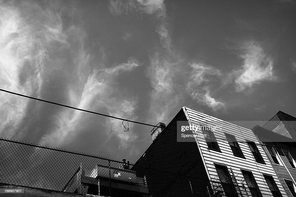 A standws home near the address where Nathaniel Cash was murdered in 1991 in Bedford-Stuyvesant on May 16, 2013 in Brooklyn borough of New York City. Derrick Hamilton, who spent nearly 21 years in prison for the 1991 murder, was paroled in 2011 after questions surfaced about New York City Detective Louis Scarcella and lead witnesses on the case. Following the recent clearing of David Ranta of murder after serving a 23-year prison sentence, the Brooklyn, N.Y. District Attorney is reviewing 50 murder cases investigated by celebrated Detective Louis Scarcella. The review of cases will give special scrutiny to those cases which appear weakest. Scarcella, 61 and now retired, denies ever having used unethical tactics to secure a conviction.