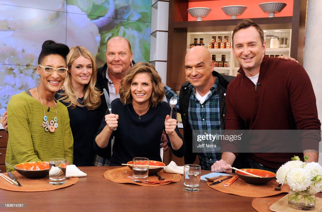 THE CHEW - Stania Katic (ABC's 'Castle') is the guest today Tuesday, October 8, 2013 on ABC's 'The Chew.' 'The Chew' airs MONDAY - FRIDAY (1-2pm, ET) on the ABC Television Network. KELLY