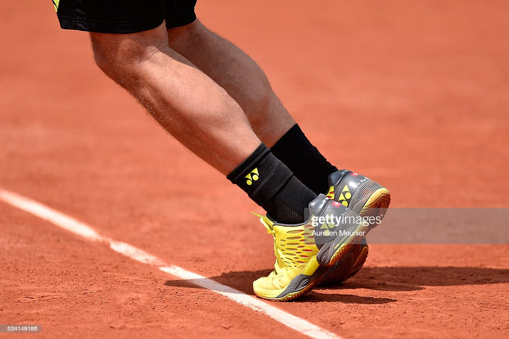 <a gi-track='captionPersonalityLinkClicked' href=/galleries/search?phrase=Stanislas+Wawrinka&family=editorial&specificpeople=557155 ng-click='$event.stopPropagation()'>Stanislas Wawrinka</a> of Switzerland in action during his men's single second round match against Taro Daniel of Japan on day four of the 2016 French Open at Roland Garros on May 25, 2016 in Paris, France.