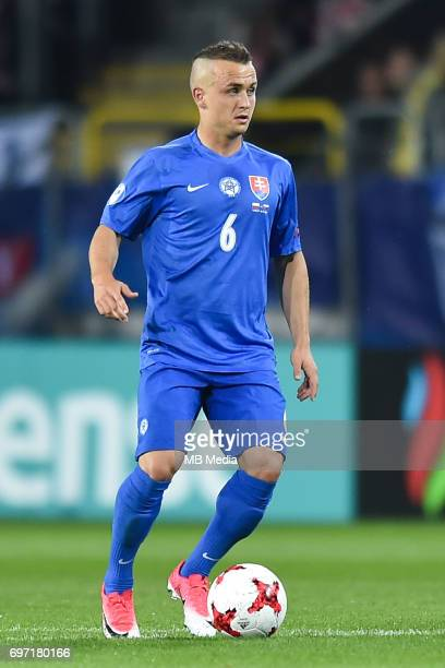 Stanislav Lobotka during the UEFA European Under21 match between Poland and Slovakia at Arena Lublin on June 16 2017 in Lublin Poland