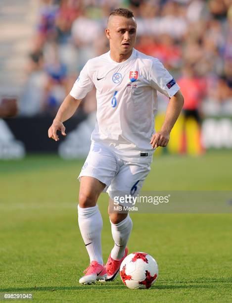 Stanislav Lobotka during the UEFA European Under21 match between Slovakia and England at Kolporter Arena on June 19 2017 in Kielce Poland